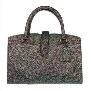 Coach iridescent Purse*RARE*worn twice Satchel bag